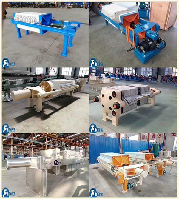 Industrial Automatic Filter Press , Wastewater Treatment Filtration Equipment