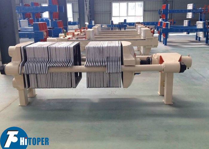 Oil Purify Use Cast Iron Filter Press High Temperature Resistance Type